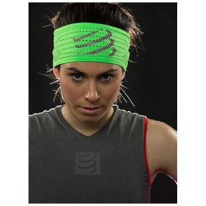 Compressport On/Off Sweat Headband - Black